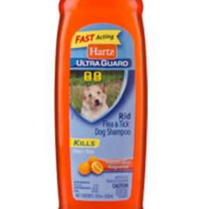 Fast acting hartz ultra guard plus – shampoo – 532ml