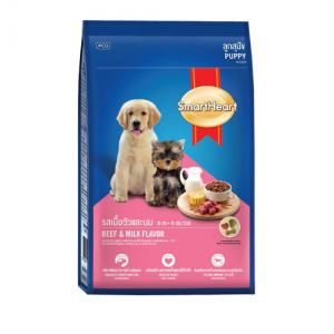 Smart Heart Puppy Food(Beef & Milk) – 500g