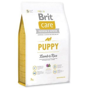 Brit Care Puppy Food(Lamb & Rice) – 3kg