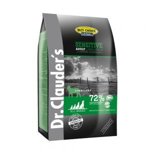 Dr. clauder's Dog Food – Sensitive(Lamb & Rice) – 20kg