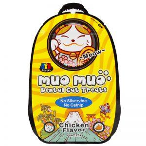 Muo Muo – Dental Cat Treats – Chicken 50g