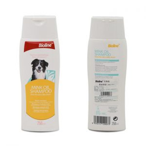 Bioline Dog Shampoo – Mink Oil 250ml