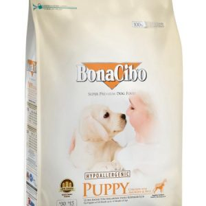 BonaCibo – Chicken with Anchovy & Rice – Puppy – 3 Kg