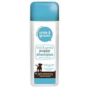 pride-and-groom-mild-and-gentle-puppy-shampoo