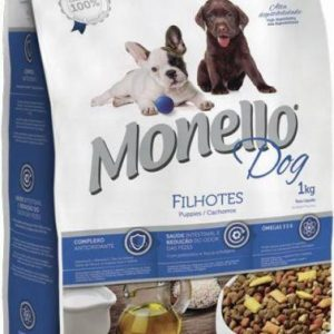 Monello Dry Food For Dog Puppies - 8 Kg